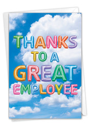 Inflated Messages, Printed Administrative Professionals Day Greeting Card - C5651YAPG