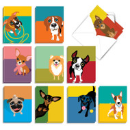 Puppy Eyes, Assorted Set Of Mini Miss You Note Cards - AM9275MYG
