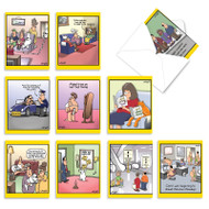 Wild For Whyatt, Assorted Set Of Mini Blank Greeting Cards - AM6463OCB