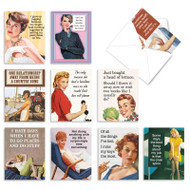 Hot Mess, Assorted Set Of Mini Blank Note Cards - AM6622OCB
