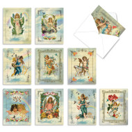 Angelic Notes, Assorted Set Of Mini Blank Note Cards - AM6446OCB