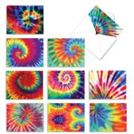 To Dye For, Assorted Set Of Mini Blank Note Cards - AM6593OCB
