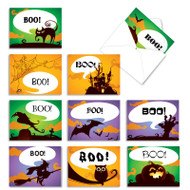 Boo-tiful Notes, Assorted Set Of Mini Blank Note Cards - AM6688XSB