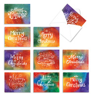 AM2944XS - Holiday Watercolors: Mini Assorted Set of Cards