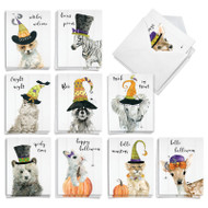 Spooky Be Wild, Assorted Set Of Mini Halloween Greeting Cards - AM9543HWG