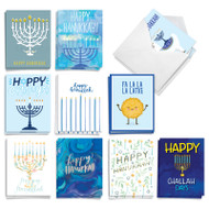 Holiday Miracles, Assorted Set Of Mini Chanukah Note Cards - AM9553HKG