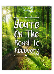 Road to Recovery, Extra Large Recovery Greeting Card - J9133AAG
