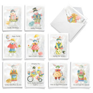 Floppy Ears, Assorted Set Of Mini Easter Note Cards - AM9165EAG