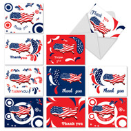 M2376TY - United Thanks Of America: Assorted Set of 10 Cards