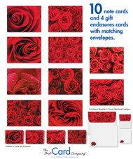Real roses? Pricey. Our roses on note cards. Free.
