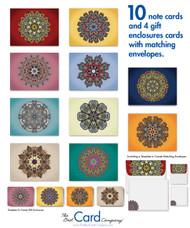 Explore a universe of colors with mandalas.