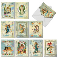 M6446TY - Angelic Notes: Mixed Set of 10 Cards
