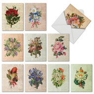Flower Press, Assorted Set Of Mini Thank You Note Cards - AM6454TYG