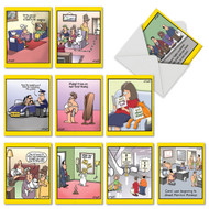 Wild For Whyatt, Assorted Set Of Mini Thank You Note Cards - AM6463TYG