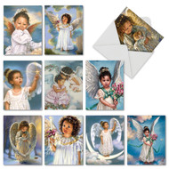 M6549TY - Little Angels: Assorted Set of 10 Cards