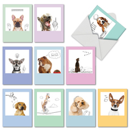 M6582TY - Dogs & Doodles: Assorted Set of 10 Cards