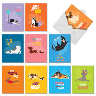 Doggone Awesome Notes, Assorted Set Of Mini Blank Note Cards - AM6586OCB
