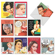 Ageless Wisdom, Assorted Set Of Mini Birthday Greeting Cards - AM6620BDG