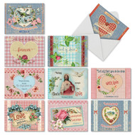 Holy Notes, Assorted Set Of Mini Blank Note Cards - AM6625OCB