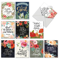 M6635OC - Praise Papers: Assorted Set of 10 Cards