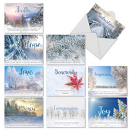 Holiday Devotions, Assorted Set Of Mini Christmas Note Cards - AM6661XSG
