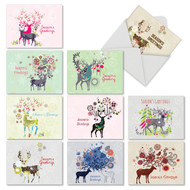 M2938SG - Dandy Reindeer: Assorted Set of 10 Cards