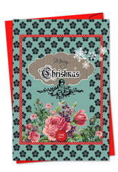 1761EXS - A Rosy Christmas: Greeting Card