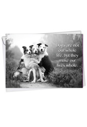 C1623COC - Canine Comments: Printed Card