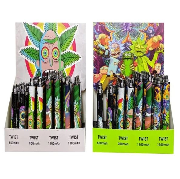 Assorted Rick & Morty Variable Voltage Battery (1pc) | FREE SAME DAY  SHIPPING