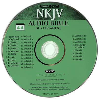 NKJV Audio Bible on CD by Stephen Johnston, voice only