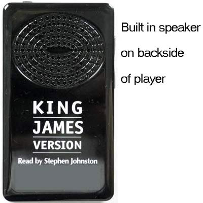 Electronic King James Voice Only Audio Bible by Stephen Johnston