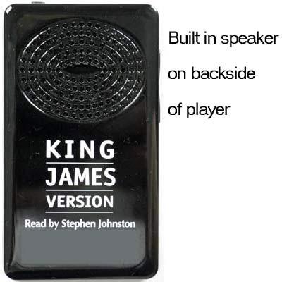 KJV Electronic Bible Player, Audio Bible player by Stephen Johnston