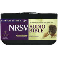 Front view - Catholic Bible on CD, New Revised Standard Audio Bible reading on CD