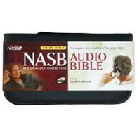 Front view - New American Standard Audio Bible on audio CD by Stephen Johnston