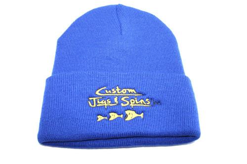 Custom Jigs & Spins Original Knit Stocking Hat