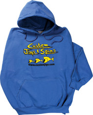 Custom Jigs & Spins Badger Hooded Sweatshirt
