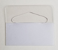 2-01 Slot Hang Tab - loose piece - 5,000 / box - Large Quantity