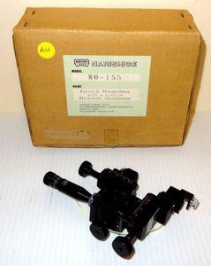 Nikon Narishige MO-155 Microscope Joystick Micromanipulator Oil Hydraulic