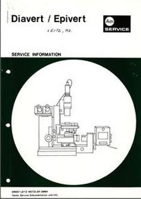 Leitz Diavert Epivert  Microscope Service Information