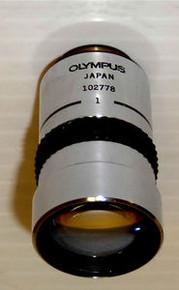 Olympus S Plan Fluorite 1X Microscope Objective 160 mm TL