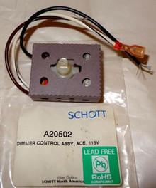 Schott Fiber Optic On/Off Dimmer Switch Microscope Illuminator Repair Part