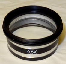 Unico ZM-180 Stereo Microscope Auxiliary Objective 0.5X