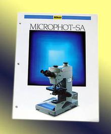 Nikon Microphot-SA  Microscope Sales Brochure