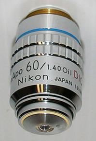 Nikon Plan APO  60X Oil immerson  DIC Microscope Objective for Optiphot-Labophot
