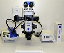 Ziess Stemi SV11 M2 Bio Quad Flourescent Microscope