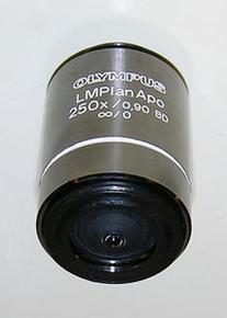 Olympus LMPlan APO 250X  Bright Dark Microscope Objective