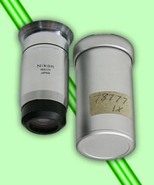 Nikon M Plan 1X Microscope Objective with Case
