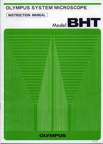 Olympus Model BHT System Microscope Instruction Manual - Model BHT BHTU BH2
