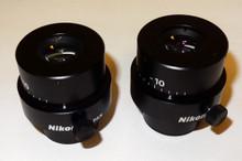Nikon SMZ-U 20X/ 15 FOV Eyepieces- Pair