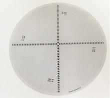 Nikon 12 inch Profile Projector Radiius Chart 360º Combination